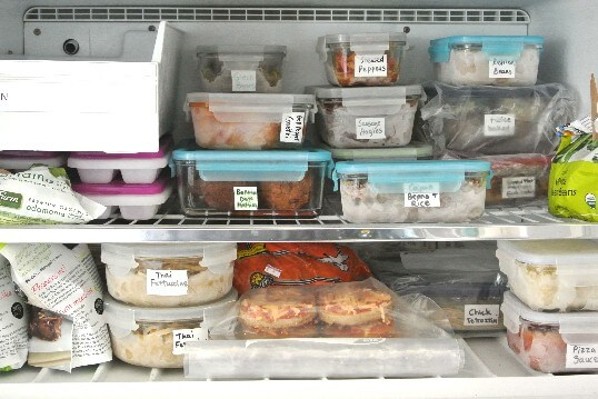 Stocking your Freezer with a multitude of healthy and delicious foods.