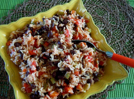 Acadian Black Beans and Rice Recipe