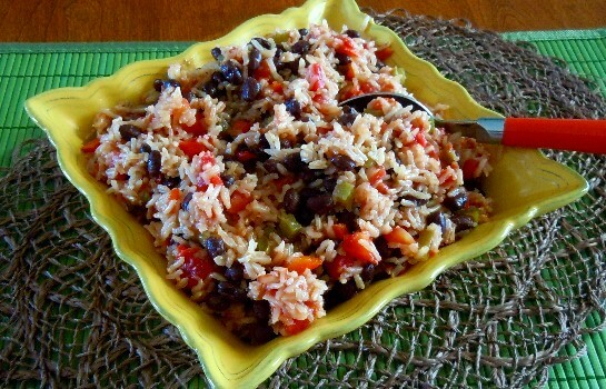Acadian Black Beans and Rice