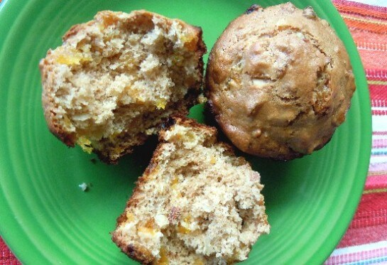 Apricot Muffins for Breakfast