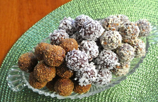 Chocolate Berry Cordial Truffles
