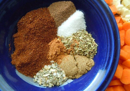 Beautiful spices for our Caribbean Chili RecipeCaribbean Chili is spicy with a hint of sweetness. This recipe can be served all year long - warm in the winter and it has a summer festive vibe.