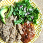 Homemade - Slow Cooker Refried Beans - the best flavors Vegan in the Freezer
