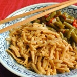 Thai Curry Fettuccine made gluten free with Rice Fettucini Recipes
