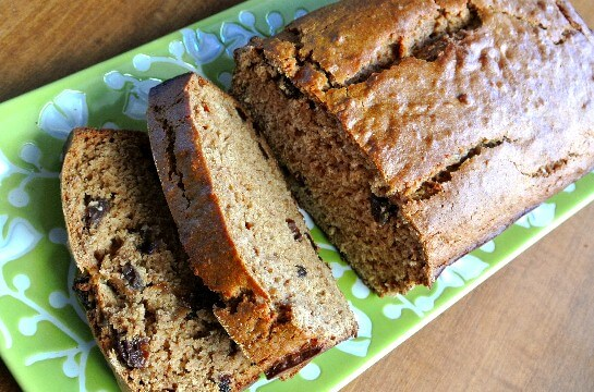 Applesauce Bread with Shredded Apple