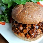 Our BBQ Chicken Sandwiches Recipe ready to eat.