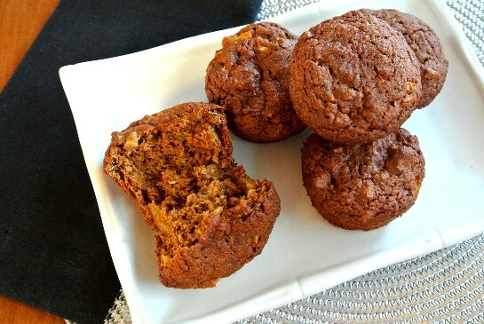 Apple Granola Muffins