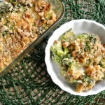 Broccoli Casserole serving looking might delicious.