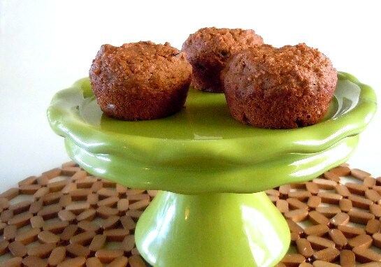 Carrot Applesauce Muffins looking good enough to eat.