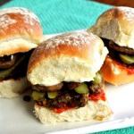 Lentil Burger Sliders