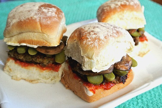 Lentil Slider Sandwiches