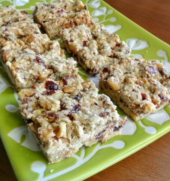 Date Raisin Breakfast Bar In Depth Pin