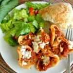 Stuffed Pasta Shells as a beautiful meal for everyone.