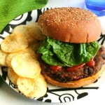 Kidney and Black Bean Burgers - Lets Eat