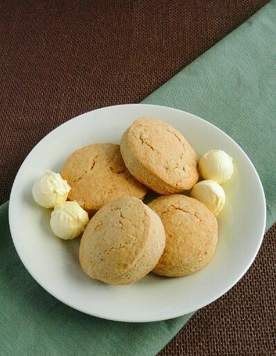 Brown Bread Irish Scones will help make your Irish meal complete. Just a tiny bit sweet they are a perfect complement to a big hearty meal. Faith and Begorrah!