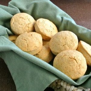 Brown Bread Irish Scones in a basket