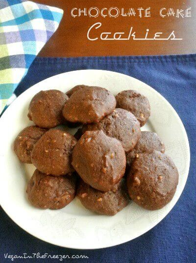 Chocolate Cake Cookies Pin Words