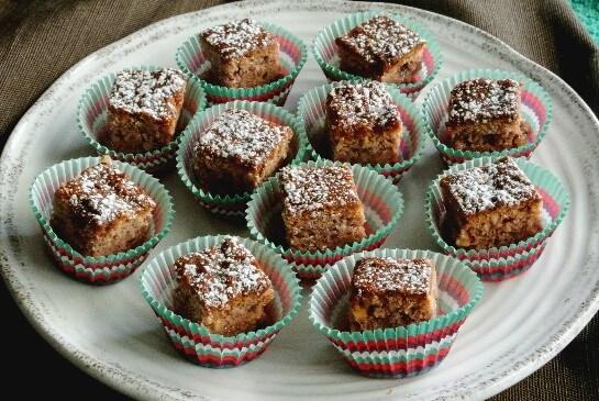 Irish Blackberry Cakes