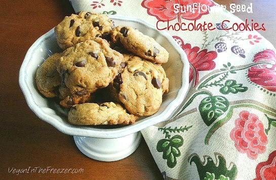 Sunflower Seed Chocolate Cookies Word
