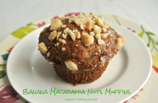 Banana Macadamia Nut Muffins Word