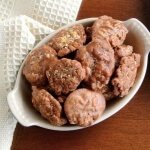 Cashew Pralines have cashews as a twist and there is even cashew butter as one of the ingredients.