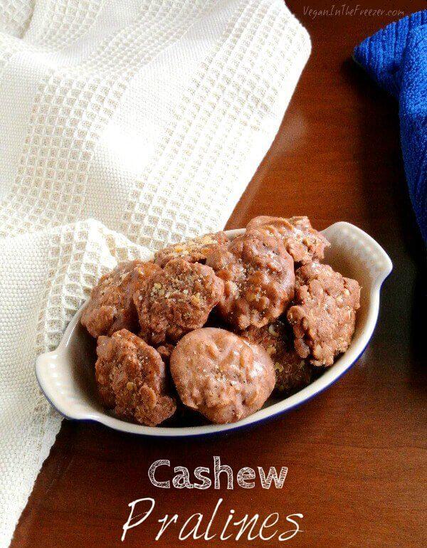 Cashew Pralines Word