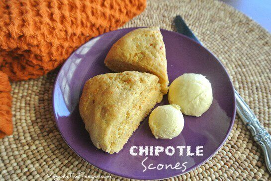Chipotle Scones are a perfect side dish because they not only go with Mexican food so well but they also blend with soups, stews, beans and so much more.
