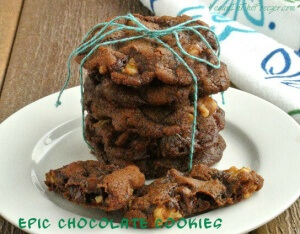 Epic Chocolate Cookies Chewy Word