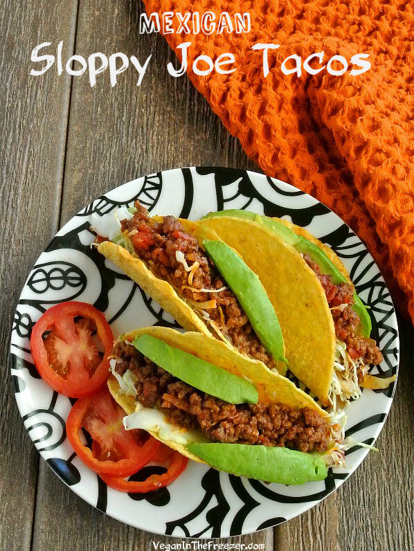 Mexican Sloppy Joe Tacos Pin Word