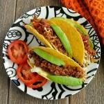 Mexican Sloppy Joe Tacos