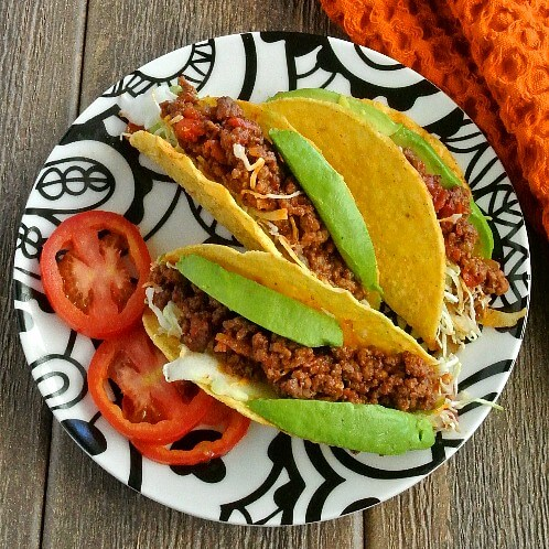 Mexican Sloppy Joe Tacos 500