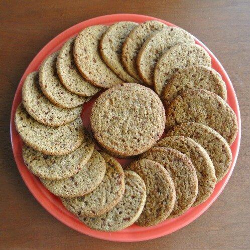 Almond Butter Refrigerator Cookies 2 sat 500