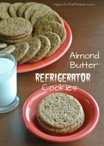 Almond Butter Refrigerator Cookies Pin Word