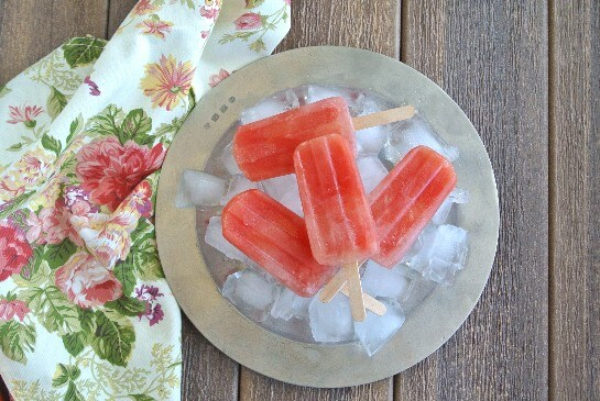 Citrus Watermelon Popsicles