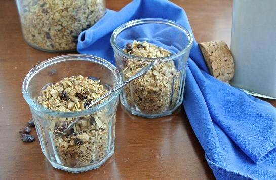 Sunflower Oats Baked Granola for two