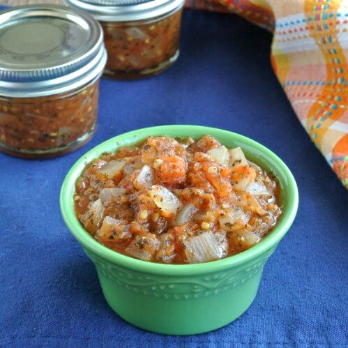 Best Chunky Tomato Salsa