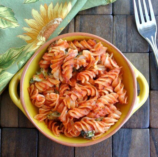 Broccoli Pasta Bake Fork 600