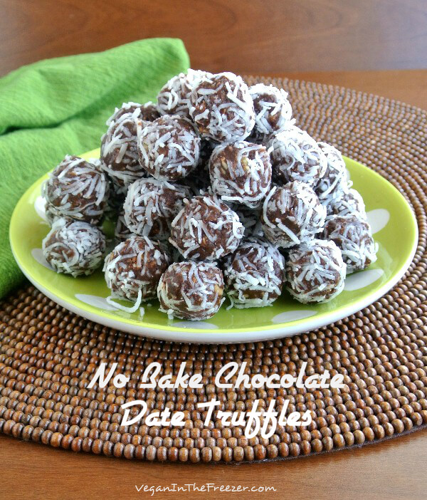No Bake Chocolate Date Truffles are made with the best variety of ingredients that will satisfy all of your cravings. Sweet, crunchy and chocolaty.