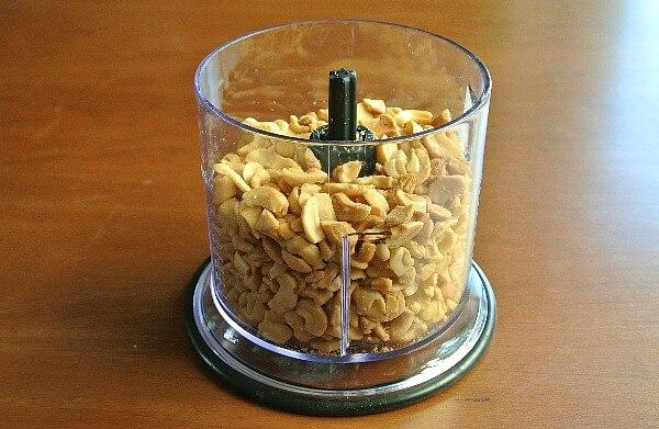 Cashew Butter peanuts