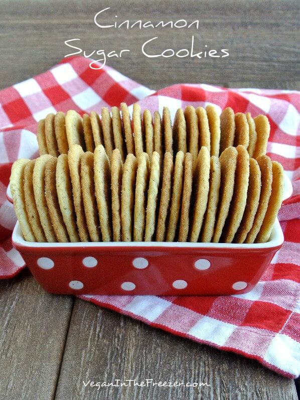 Cinnamon Sugar Cookies Pin Word