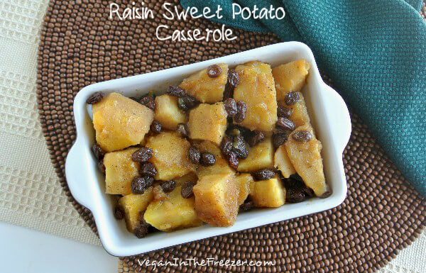 Raisin Sweet Potato Casserole