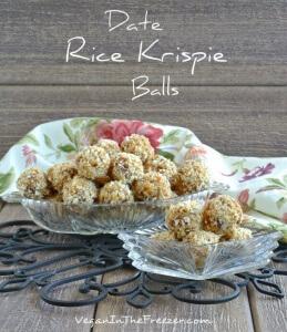 Date Rice Krispie Balls Word