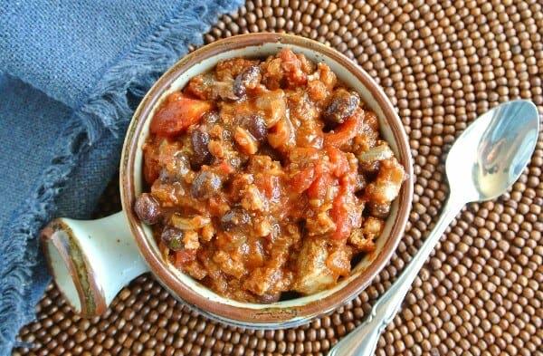 Vegan Combo Beef Sausage Chili Recipe Vegan In The Freezer