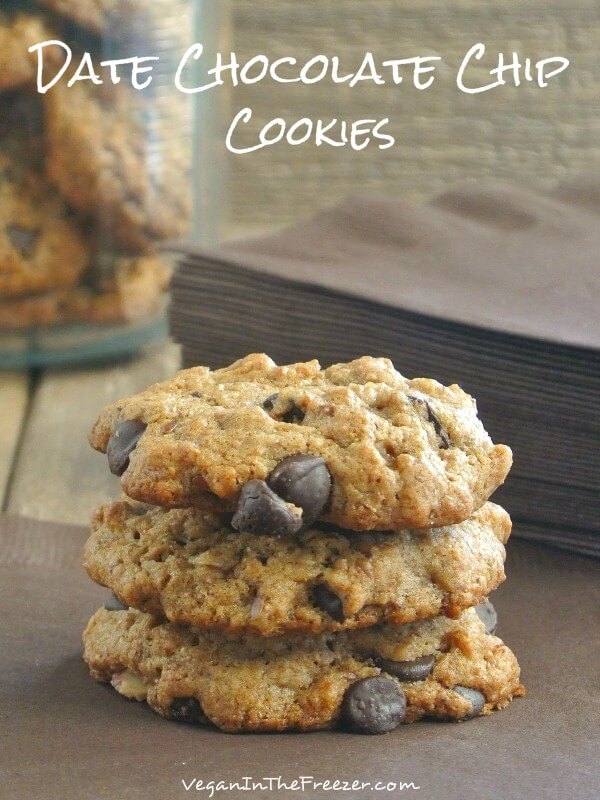 Date Chocolate Chip Cookies Pin Word