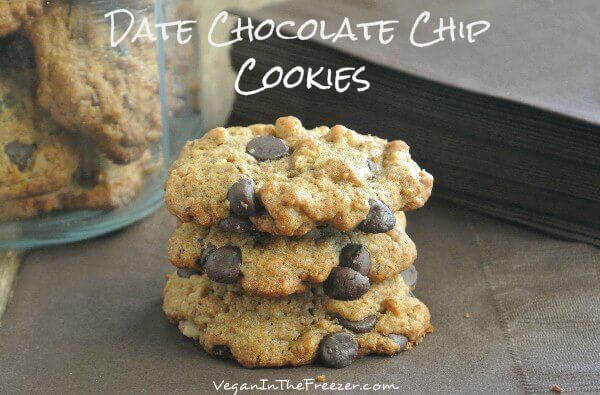 Date Chocolate Chip Cookies