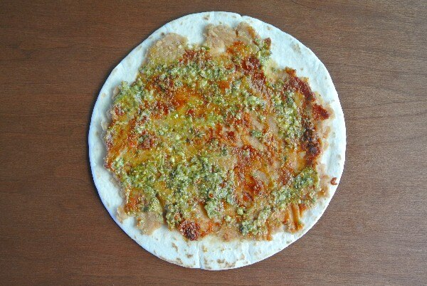 Pesto Tortilla Rollups Spread
