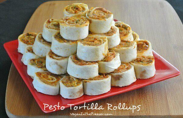 Pesto Tortilla Rollups front Word