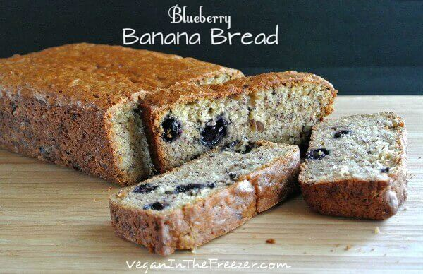 Blueberry banana Bread front sliced Word