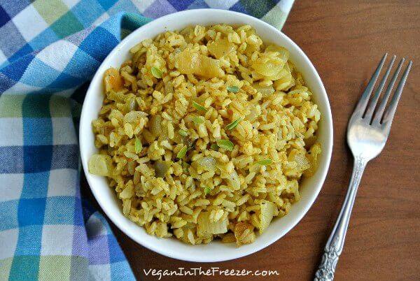 Easy Curry Rice Overhead Word