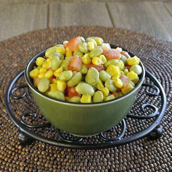 Slow Cooker Edamame